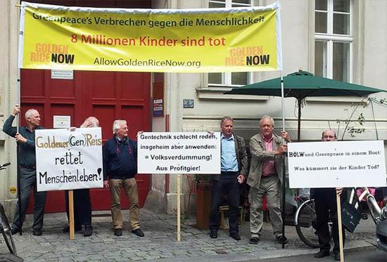 Protesting in Berlin